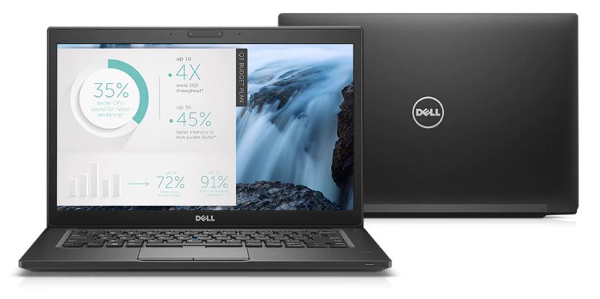 Dell Latitude 7480 jest przede wszystkim laptopem, który skierowany jest na bardzo szybkie działanie i obsługę wymagających programów i aplikacji biznesowych